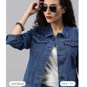 Star Blue Denim Jacket