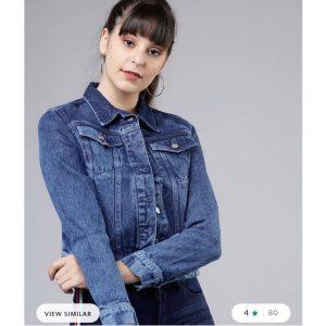 Freshmess Blue Denim Jacket