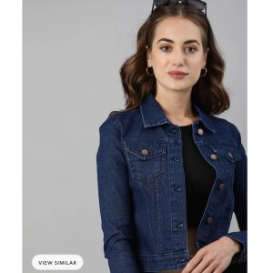 Beauty And The Blue Denim Jacket
